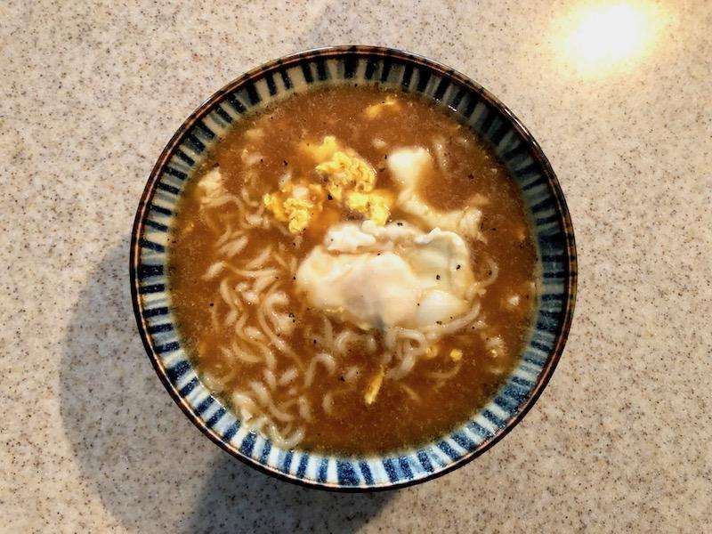 スープカレーラーメン完成