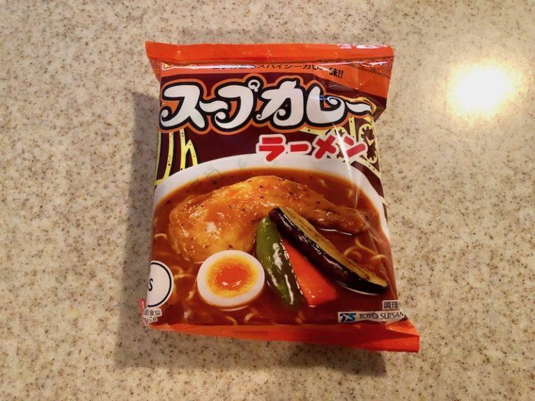 袋に入ったスープカレーラーメン