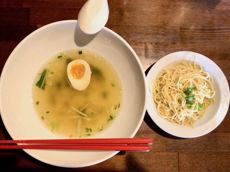 替玉とスープ