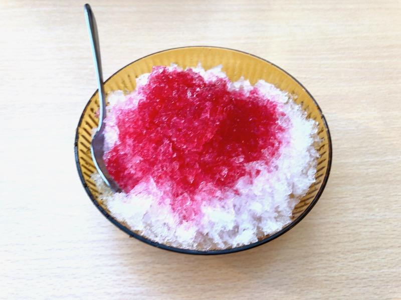 久楽の100円かき氷