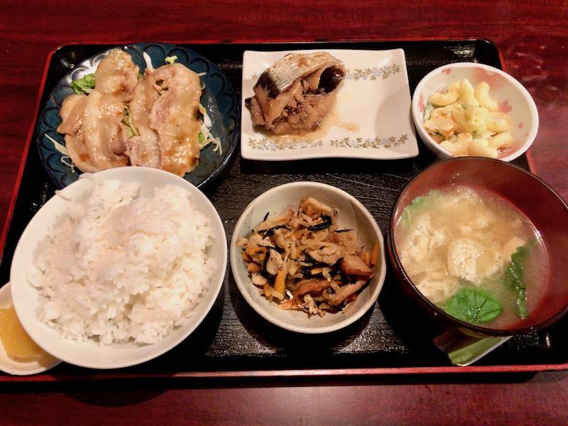 日替定食(焼肉)