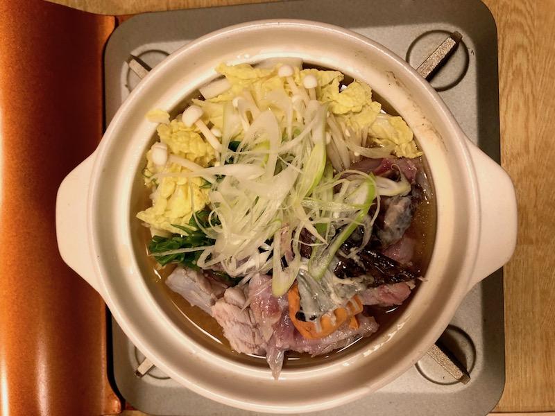 日高産 かじか鍋