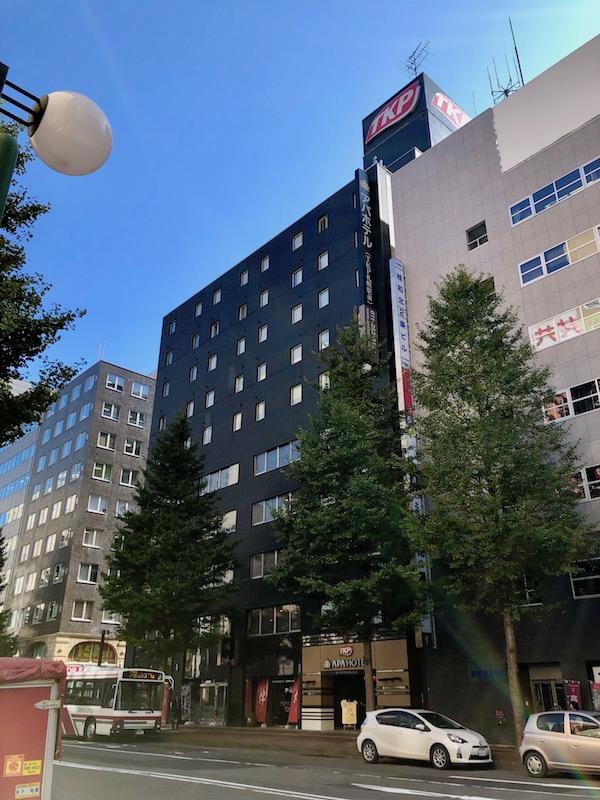 TKPガーデンシティ札幌駅前 外観
