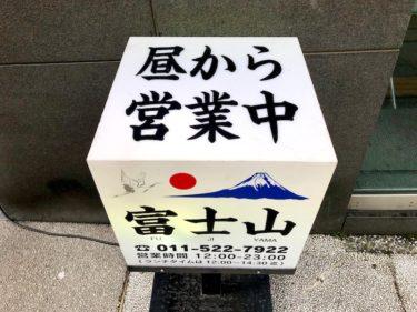 札幌 大通「大衆酒場 富士山」ランチのコスパが良すぎて毎日通いたい