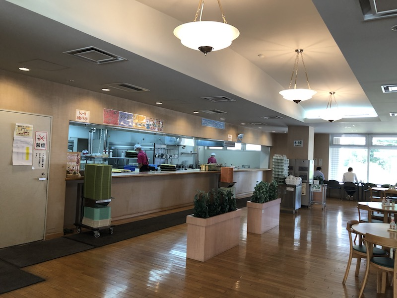 ポリテクセンターレストラン厨房付近