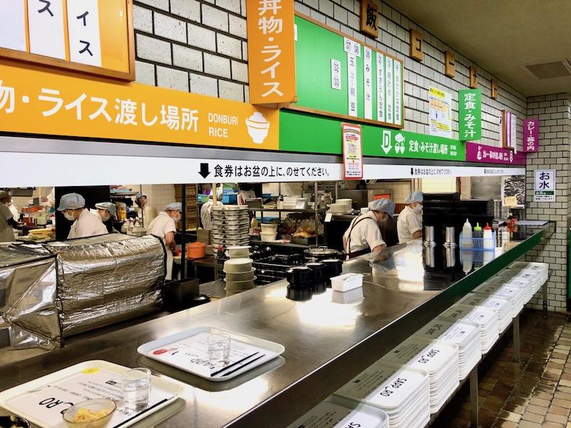 米飯コーナー