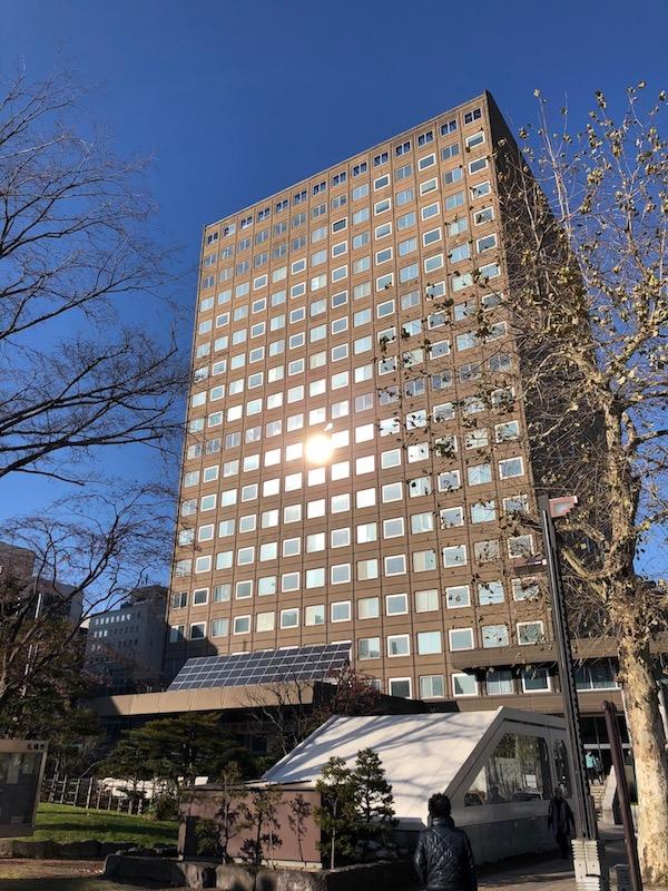 札幌市役所 外観