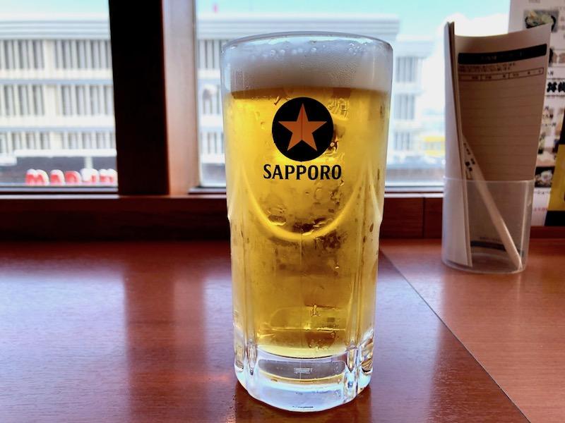 花ゆづきで飲む至福のビール