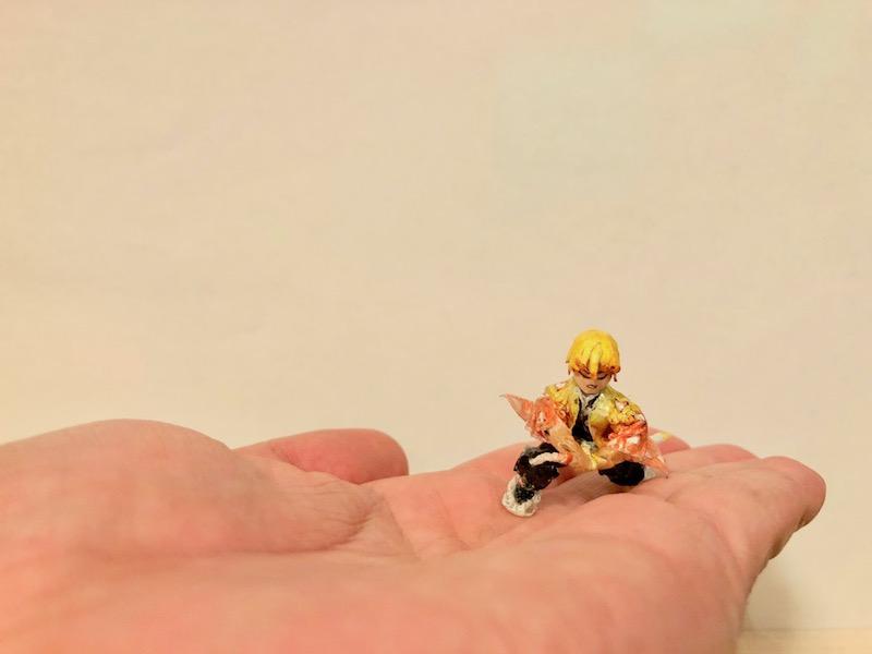 手のひらの上で雷の呼吸・壱ノ型
