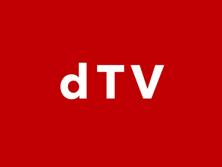 dTV トップ画像